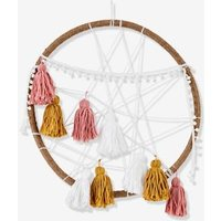 Dreamcatcher, XL Farou beige light solid with design