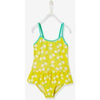 Girls' Swimsuit pink light all over printed