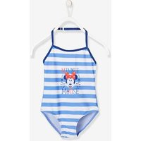 Girls' Minnie ® Swimming Costume blue medium striped
