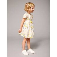 Girls' Printed Dress green light all over printed