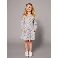 Girls' Printed Dress grey light mixed color