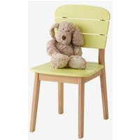 Children's Outdoor Chair green light solid