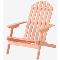 Outdoor Chair for Children, Garden orange medium solid