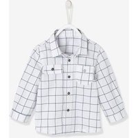 Shirt for Baby Boys, with Printed Motif grey dark all over printed