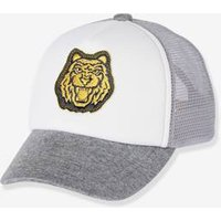 Cap With Mesh Fabric On The Back, For Boys Grey Medium Mixed Color