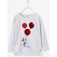 Printed Mickey ® Top with Reversible Sequins grey light solid with design
