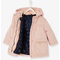 3-in-1 Parka With Removable Jacket, For Baby Girls Beige Light Solid