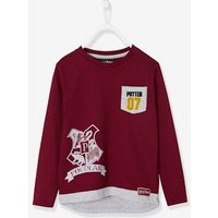 Harry Potter ® Overlay-Effect Top for Boys red dark solid with design