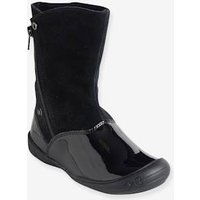 Adaptable Boots For Girls Black Dark Solid