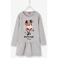 Printed Fleece Minnie ® Dress grey light solid with design