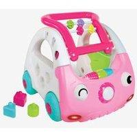 3-in-1 Mini-Car Baby Walker, BLUE BOX pink medium 2 color/multicol