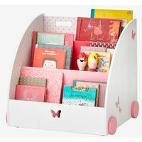 Mobile Bookcase, Flight Theme white light all over printed