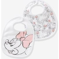 Pack of 2 Minnie ® Print Bibs for Babies white medium solid with design