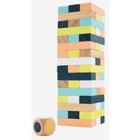Wooden Tower of Hell beige light solid