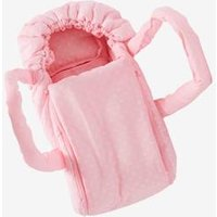Carrycot for Dolls pink dark 2 color/multicol or