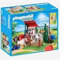 6929 Horse Grooming Station by Playmobil beige light solid with design