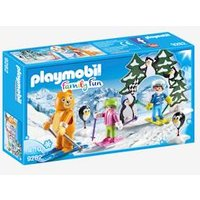 9282 Ski Lesson by Playmobil white medium solid with design