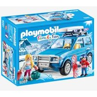 9281 Winter SUV by Playmobil blue medium solid with design