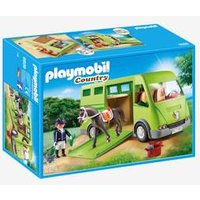 6928 Horse Box by Playmobil green medium solid with desig
