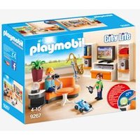 9267 Living Room by Playmobil brown light solid with design