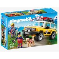 9128 Mountain Rescue Truck by Playmobil yellow medium solid wth design