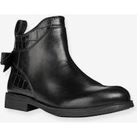 Boots for Girls, Agata by GEOX ® black dark solid