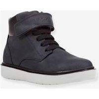 Boots for Boys, Riddock Boy High by GEOX blue dark solid