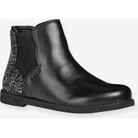 Boots for Girls, Shawntel by GEOX ® black dark solid