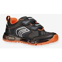 Trainers for Boys, Android Boy Low by GEOX ® black dark solid