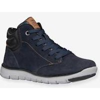Boots for Boys, Xunday Boy High by GEOX blue dark solid