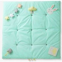 Soft Activity Mat, Funny Baby green light all over printed