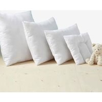 Easy Wash Pillows in Microfibre white