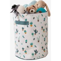 Storage Basket, Cactus beige light all over printed