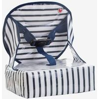 Easy Up Chair Booster , BABY TO LOVE grey light all over printed