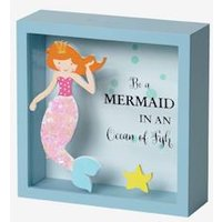 Mermaid Picture Money Box beige light solid