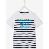 Striped T-shirt for Boys green bright striped