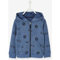 Jacket with Zip, Rock and Fun Print, for Boys blue dark mixed color