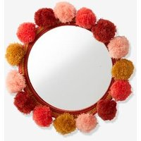 Pompon Mirror blue light two color/multicol