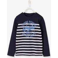 Sailor T-Shirt for Boys red dark striped