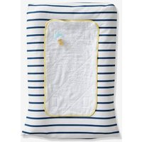 Changing Mat + Cover, STRIPES white light striped