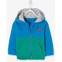 Jacket with Zip and Bright Colours for Baby Boys blue medium solid with design