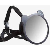 Car Seat Mirror black medium solid