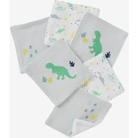 Pack of 6 Wipes blue light all over printed
