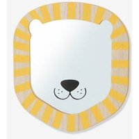 Lion Mirror beige light solid with design