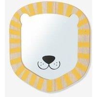 Lion Mirror beige light solid with design