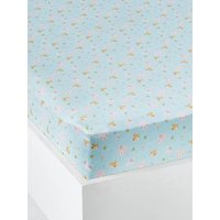 Fitted Sheet, Love in the Forest Theme green light all over printed