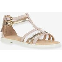 Sandals for Girls, Karly by GEOX ® brown light solid