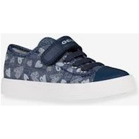Trainers for Girls, Ciak Girl J by GEOX ® blue dark solid