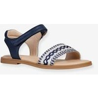 Sandals for Girls, Karly Girl by GEOX ® blue dark solid