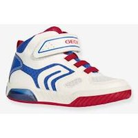 Trainers for Boys, Inek Boy A by GEOX ® white light solid